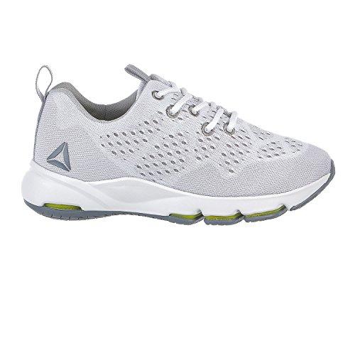 Reebok Women's Cloudride LS DMX Running Shoe, White/Skull Grey/Asteroid Dust, 7.5 M US