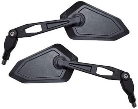 Spiegel Satz links rechts R/ückspiegel Set Schwarz E-Gepr/üft M8 f/ür TGB Roller