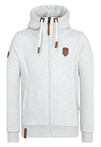 Jacket Stone Melange Birol Male Naketano Grey Zipped qAnwUREC