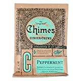 Chimes Peppermint Ginger Chews 5oz candies
