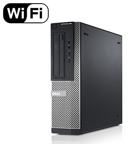 Dell Optiplex 390 Desktop PC – Intel Core i3-2120 3.3GHz 8GB 1.0TB DVDRW Windows 10 Pro (Certified Refurbished)