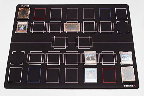 GMC Deluxe 2 Player Compatible Master Competition Pendulum Zone Yu-Gi-Oh Yugioh TCG Stadium Mat Board - Yu Arena Oh Gi