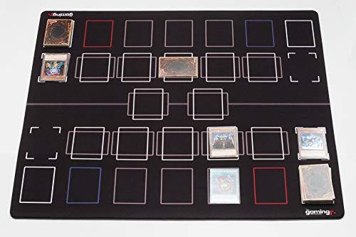 GMC Deluxe 2 Player Compatible Master Competition Pendulum Zone Yu-Gi-Oh Yugioh TCG Stadium Mat Board - Machine Yu Oh Perfect Gi