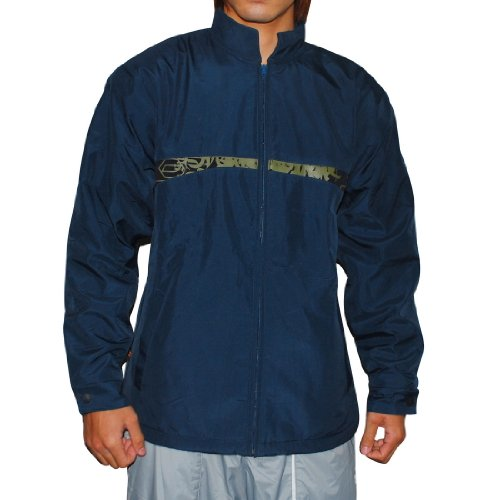 Mens JET PILOT Rider Essentials Fleece Lined Zip Up Jacket Coat - Blue