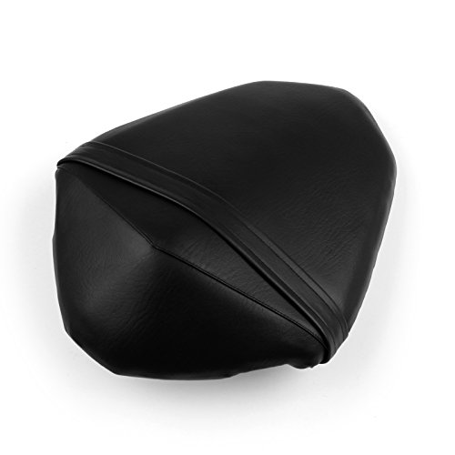 Artudatech Motorbike Rear Passenger Seat, Motorcycle Passenger Rear Seat Leather Pillon Seat Cushion Replacement For K-A-W-A-S-A-K-I Z800 2013 2014: