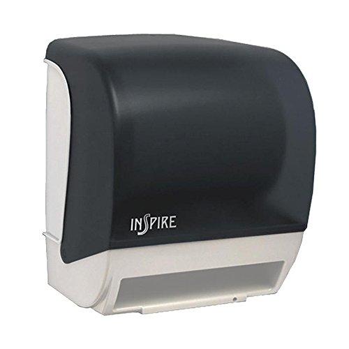 Palmer Fixture TD0235-01P Inspire Electronic Hands Free Roll Towel Dispenser, Dark Translucent
