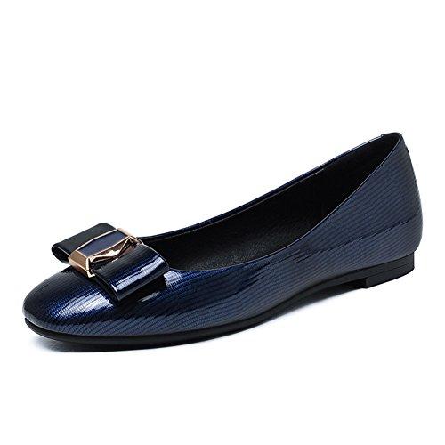 Zapatos de las señoras de primavera/Plaza ocio zapatos planos de la luz/Zapatos de arco B
