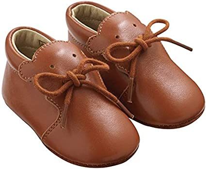 Tichoups Chaussures b/éb/é cuir souple Tilou camel 16//17
