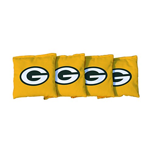 - Victory Tailgate NFL Green Bay Packers Cornhole Bag, Size Regular, Yellow