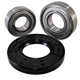 Nachi Front Load GE Washer Tub Bearing and Seal Kit Fits Tub WH45X10071 (5 year replacement warranty and full HD''How To'' video)