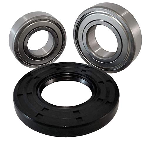 Front Load Bearings Washer Tub Bearing and Seal Kit with Nachi Bearings fits Samsung Tub DC97-17040 (5 year replacement warranty and link to our
