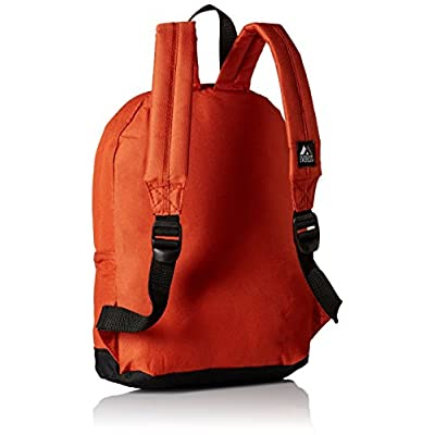 Everest Junior Backpack, Rustic Orange, One Size | Kids' Backpacks