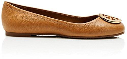 Tory Burch Reva Womens Leather Flats Shoes - 1