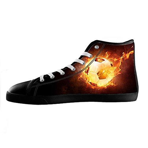 Calcio Delle Lacci I Canvas Women's Tetto Ginnastica Da Scarpe Custom Alto Sport Shoes CZ05qTfw