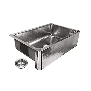 41%2BcPgoXkpL._SS300_ 75+ Beautiful Stainless Steel Farmhouse Sinks For 2020