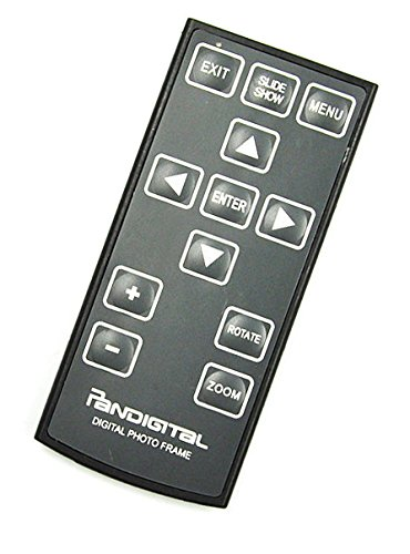 New Digital Photo Frame Remote Control for Pandigital PI7000AW01, PI7002AW, PI9001DW, P17056AWB and Almost All 7, 8, 9, 10 Inches Digital Frame