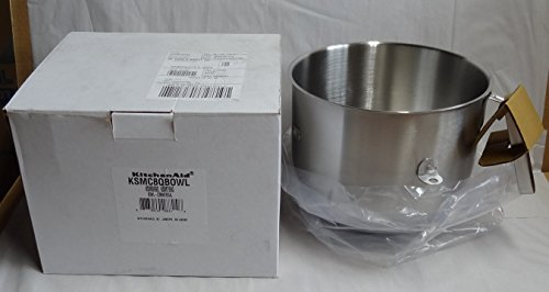 KitchenAid Commercial 8 Qt – Bowl used with KA 7qt ProLine Mixer