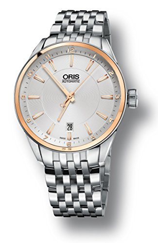 Oris Artix Silver Dial Stainless Steel Men's Watch 73377136331MB