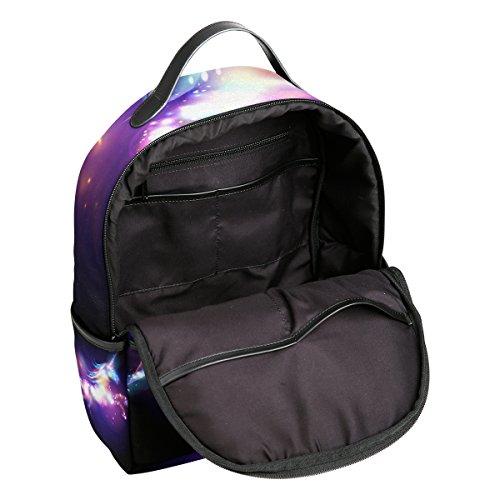JSTEL Unicorn Magic Stars School Backpack 1th 2th 3th Grade for Boys Teen Girls by JSTEL (Image #6)