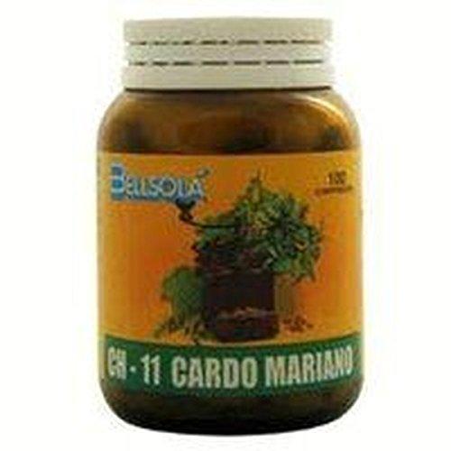 Ch-11 Cardo Mariano 100 comprimidos de Bellsola: Amazon.es: Salud y cuidado personal