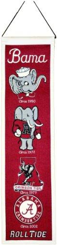 NCAA Alabama Crimson Tide Heritage Banner