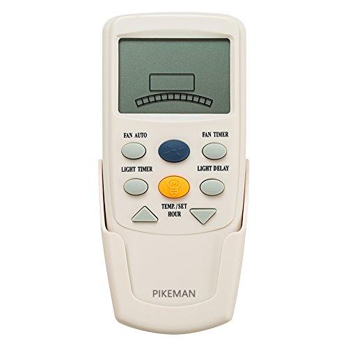 Ceiling Fan Remote Control Replace Hampton Bay Thermostatic LCD W Fan Timer FAN-9T L3HFAN9T (Remote Only) -Pikeman