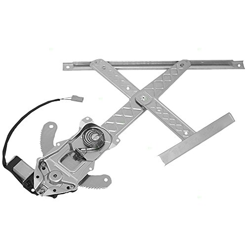 Drivers Front Power Window Lift Regulator with Motor Assembly Replacement for Ford Pickup Truck F65Z1523209AB AutoAndArt
