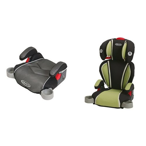 graco backless turbobooster car seat galaxy and highback turbobooster car seat go green. Black Bedroom Furniture Sets. Home Design Ideas