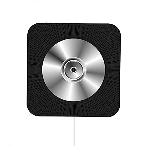 Draadloze Bluetooth CD-speler, aan de muur gemonteerde draagbare CD-muziekspeler, afstandsbediening, HiFi…