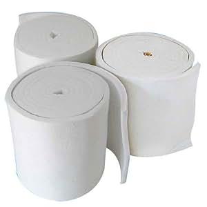 "Ceramic Fiber Blanket, 8 Lb density 1"" x 24"" x 25' Roll"