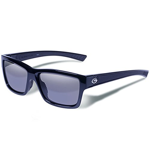 Gargoyles Performance Eyewear Homeland Polarized Glasses, Black Frame/Smoke Lenses