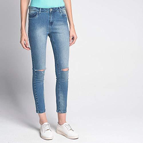 Calça Luigi Bertolli Feminino Skinny Grey Jeans