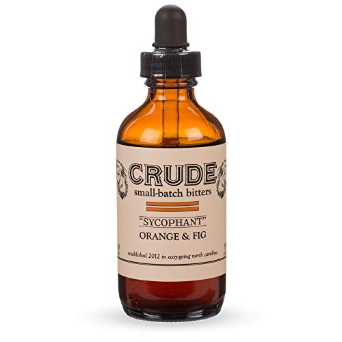 Hounds Orange (Crude Sycophant Orange & Fig Small Batch Cocktail Bitters - 4 oz)
