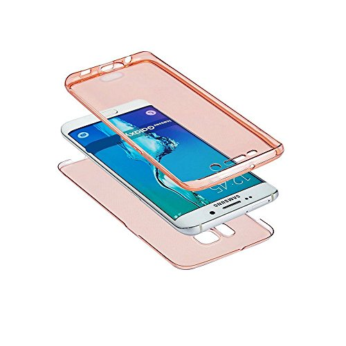 Galaxy S6 Edge Plus CaseSamsung S6 Edge Plus TPU CoverLeeook extremely Thin Transparent apparent Black develop Shockproof Cover soft TPU Silicone lean healthy Scratch resilient Front and Back extensive Body 360 Degree Protection Gel Bumper claim for Samsung Galaxy S6 Edge Plus 1 x Free Black Stylus Cables