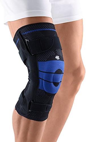 BAUERFEIND GenuTrain S Kniebandage, atmungsaktiv, gestrickt, zur Linderung von Schmerzen und Schwellungen bei Arthritis, ACL-Verletzungen, Meniskusriss, hohe Qualität, medizinische Qualität