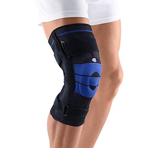 Genutrain Black Active Knee Support - Bauerfeind GenuTrain Right S Knee Support (Black, 4)