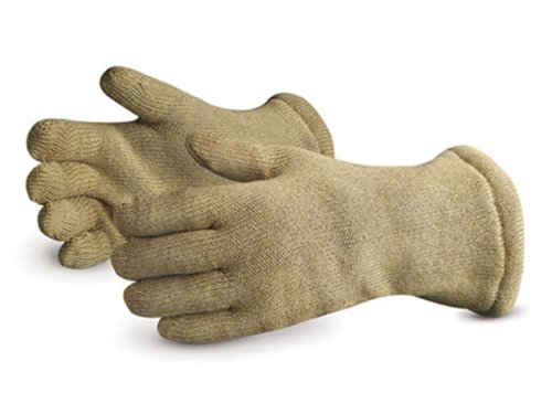 Superior PBI83514 Extreme Dragon PBI/Kevlar High-Heat Wool Glove, Work, 14'' Length, Ladies (Pack of 1 Pair) by Superior Glove (Image #1)