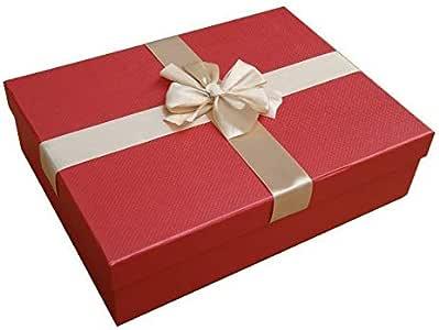 Nueva moda caja regalo de alta gama de regalo de la caja de dulces caja de cartón duro regalo caja: Amazon.es: Hogar