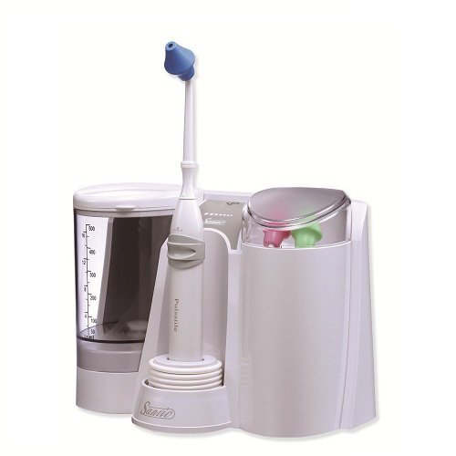 Sanvic Professional Nasal / Sinus Pulsatile Irrigator (Family: Include 3 Adult Tips) by Sanvic