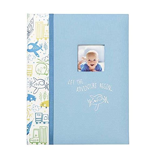 C.R. Gibson Baby Boy Memory Keepsake Book First 5 yrs - (Cr Gibson Album)