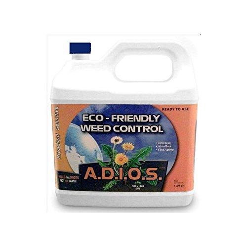 (A.D.I.O.S. Eco-Friendly Weed Control, 1.14 Gallon, RTU)