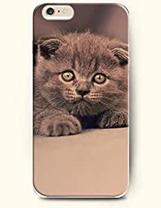 OOFIT Apple iPhone 6 Case 4.7 Inches - Gray Cat by supermalls