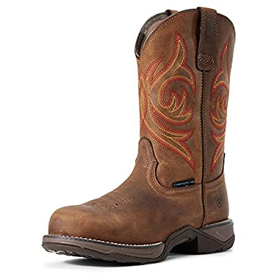 ARIAT Women's Anthem Round Toe Composite Toe Work Boot