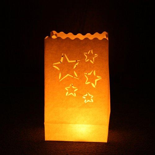Linterna de jard/ín Candle Bags UK C031