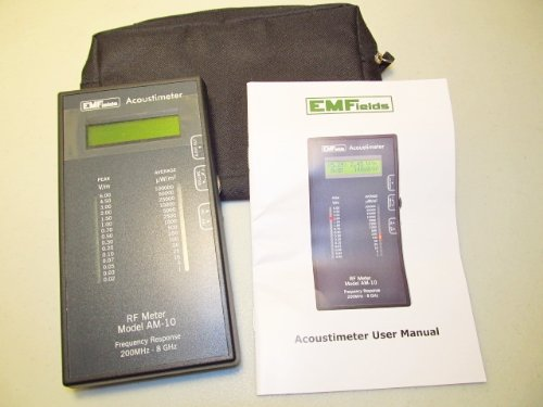Acoustimeter RF Meter Model AM-10 Radio Frequency Meter EMF Protection. The Best RF Detector! Protect Yourself from EMF by Acoustimeter RF Meter Model AM-10 (Image #4)