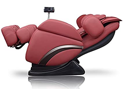 Amazon Ideal Massage Full Featured Shiatsu Chair With Built In Heat Zero Gravity Positioning Deep Tissue RED Beauty
