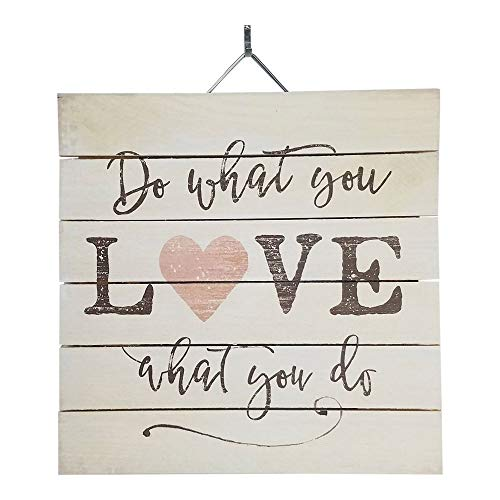 Imprints Plus Do What You Love Wood Sign, 12