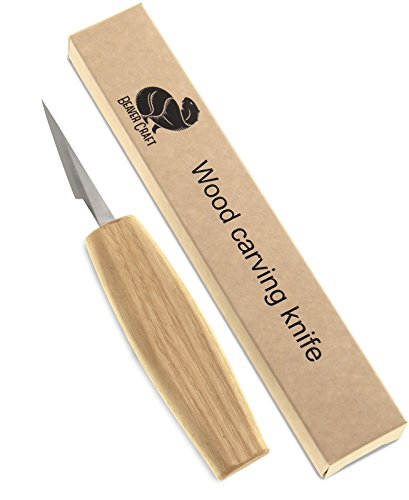 My bother loves wood carving and he loves this detail carving knife for precision fine cuts.