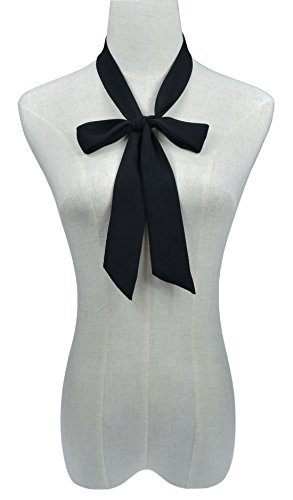 SISIDI Women's Folding Bow Tie Bow Ties L193- Various Colors (Ribbon Tie)