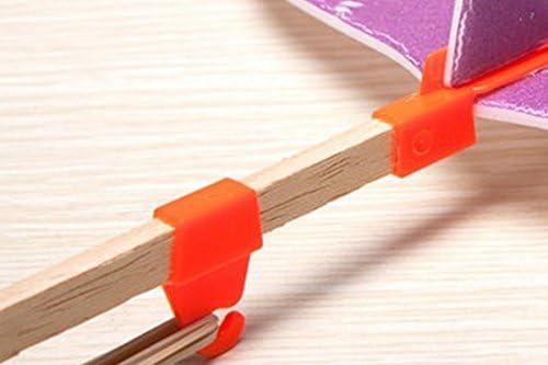 ノーブランド品 2個 飛行機モデル 組み立て ゴムひも 屋外 おもちゃ 贈り物 2色選べ - 緑